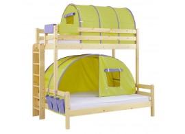 Poschoďová postel KALIMERO-320A/ZM, masiv smrk