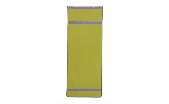 Záclonka pod patrovou postel MONTERO-12, zeleno-modrá