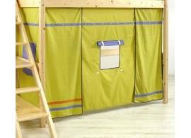 Domeček pod patrovou postel MONTERO-1213, zeleno-modrá