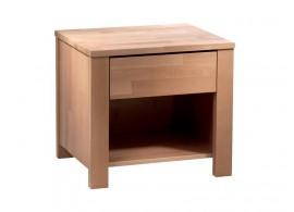 Noční stolek NAKO 1, masiv buk