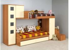 Dětská patrová postelová sestava-dětský pokoj NX-02-Next