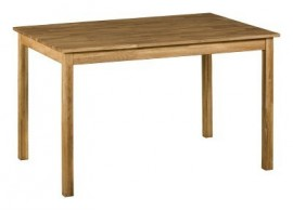 Jídelní stůl IA4840, masiv dub, 120x80 cm