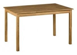 Jídelní stůl z masivu IA4840, 120x80, masiv dub