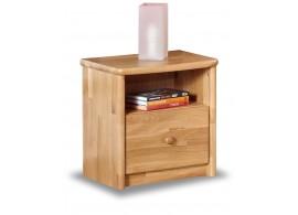 Noční stolek EDA - masivní dub