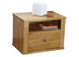 Noční stolek ALEX, masiv dub