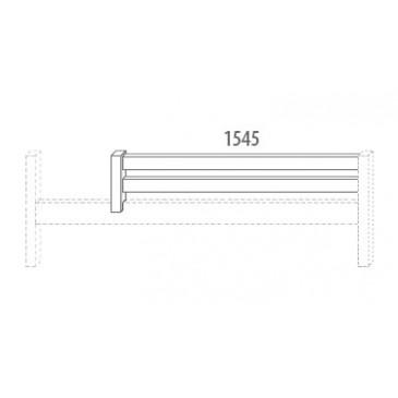 Zábrana A D914/BC - Domino, masiv buk