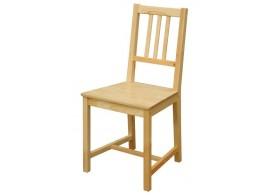Jídelní židle do kuchyně IA869, masiv smrk