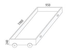Úložný prostor velký D912/BC-Domino, masiv buk