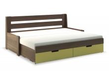 Rozkládací postel s úložným prostorem FLEXI B, lamino