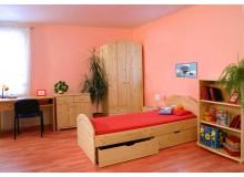 Dětský nábytek ALPIK, masiv smrk