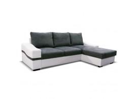 Rohová rozkládací sedací souprava OREGON s úložným prostorem