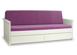Rozkládací postel TANDEM JORA s uložným prostorem, 80x200, 90x200