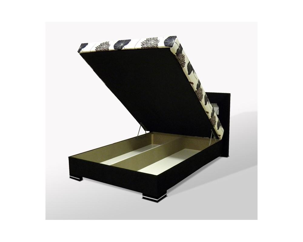 Čalouněná postel s úložným prostorem VIVA, 140x200