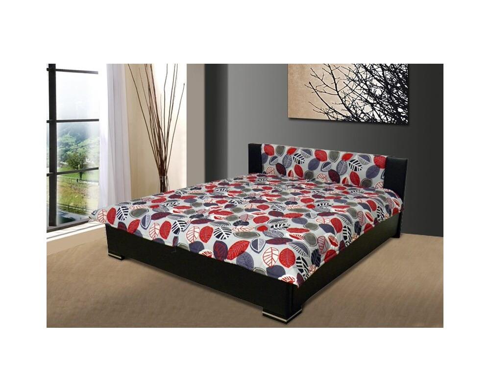 Čalouněná postel 180x200 FINLEY, černá