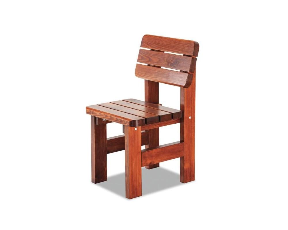 Zahradní židle - křeslo LORKA, masiv borovice