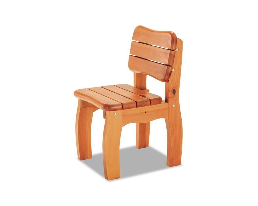 Zahradní židle - křeslo TROL, masiv borovice