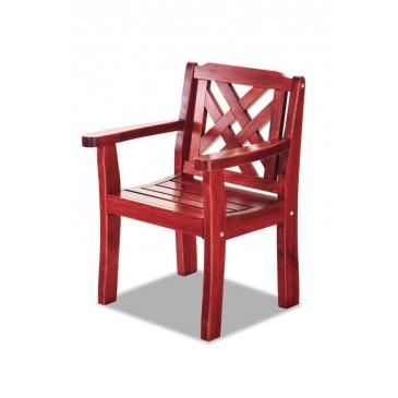 Zahradní židle - křeslo BRUNO, masiv dub