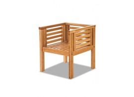 Zahradní židle - křeslo MALI, masiv dub