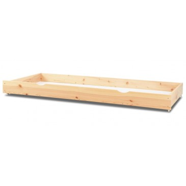Úložný prostor pod postel - šuplík celý, smrk, borovice, dub