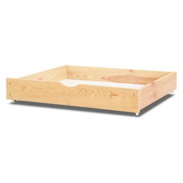 Úložný prostor pod postel - šuplík 1/2, smrk, borovice, dub