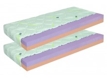 Matrace 1+1 zdarma ZDENĚK 16 cm, pěna eliocell