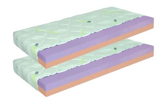 Matrace 1+1 zdarma ZDENĚK 20 cm, pěna eliocell