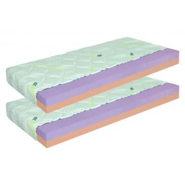 Matrace 1+1 zdarma ZDENĚK 24 cm, pěna eliocell