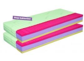 Antibakteriální matrace 1+1 zdarma ANTIBACTERIAL VISCO VAKUO 22 cm