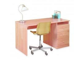 Psací stůl K860/BC VARIO, masiv buk