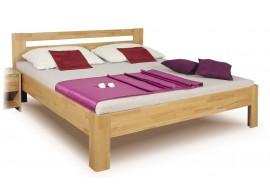 Manželská postel z masivu IVA LUX 160x200, 180x200, buk