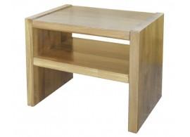 Noční stolek MAXIM plus, masiv dub