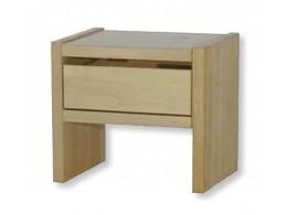 Noční stolek se zásuvkou MAXIM plus, masiv dub