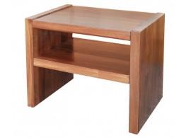 Noční stolek MAXIM plus, masiv smrk
