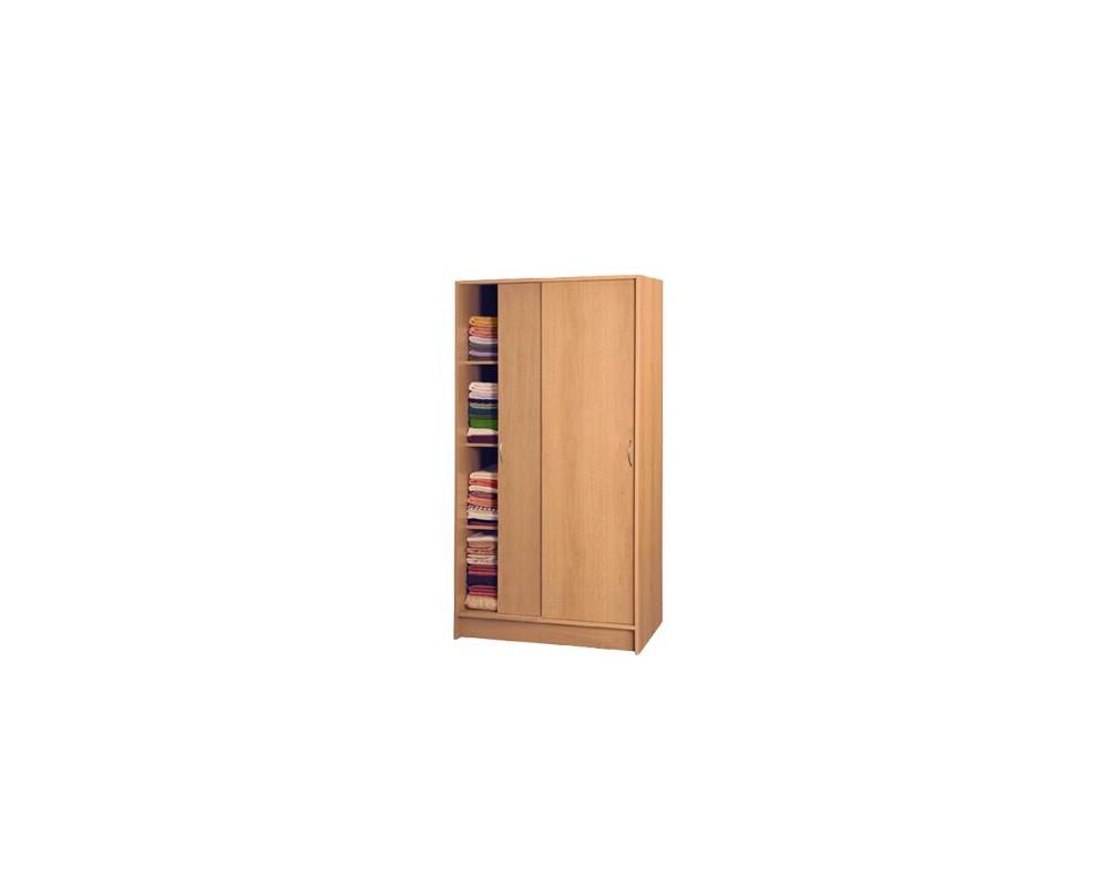 Šatní skříň s posuvnými dveřmi IA5223A - lamino buk