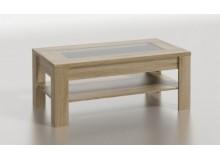 Moderní konferenční stolek KLÁRA 110x60, dub sonoma