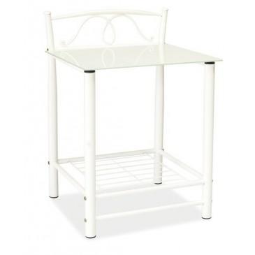 Noční stolek CS035, bílý