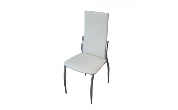 Jídelní židle do kuchyně IA3014, krémově bílá