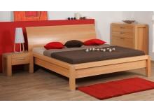 Manželská postel z masivu - dvoulůžko MANON M121/B