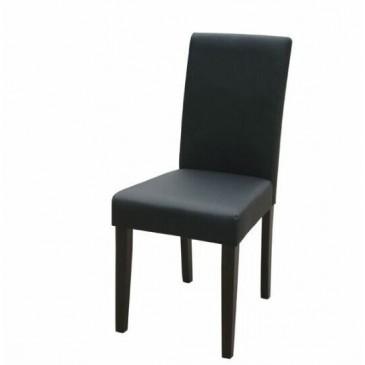Moderní jídelní židle do kuchyně IA3034, černá