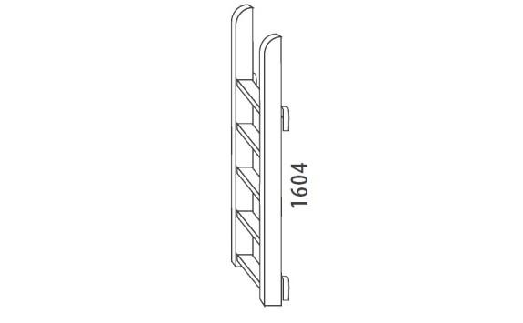 Žebřík velký-svislý D918-Domino