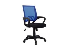 Židle k psacímu stolu IAK92, černá-modrá