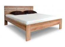 Zvýšená postel dvoulůžko LEA - NOVINKA, 160x200, 180x200, lamino