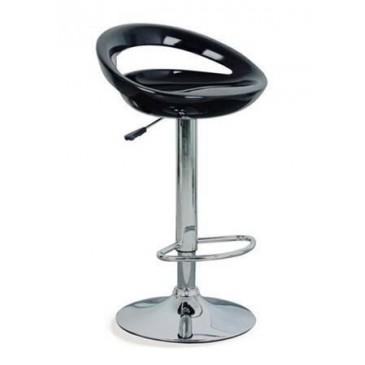 Barová židle 2-35E, černá