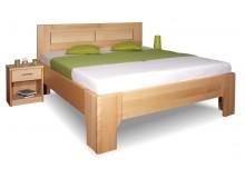 Manželská postel z masivu OLYMPIA 3. senior 160x200, 180x200, masiv buk