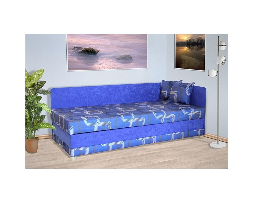 Čalouněná postel s úložným prostorem MIRIAM, 90x200