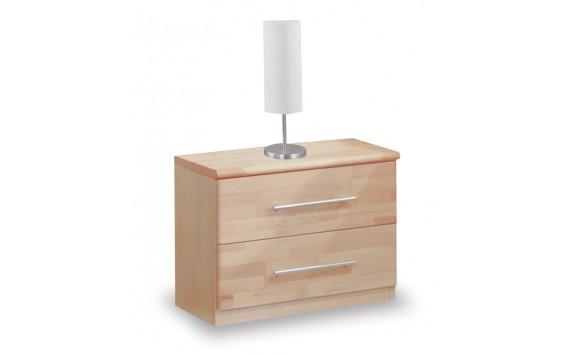 Noční stolek 3 zásuvkový VK-NR3, masiv buk