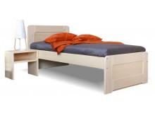 Zvýšená postel - jednolůžko REMARK senior 90x200, masiv smrk