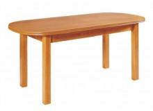 Oválný rozkládací jídelní stůl 160x80 WENUS P3