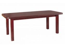 Rozkládací jídelní stůl WENUS 7, masiv, 200x90 cm