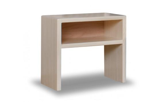 Noční stolek REMARK , masiv smrk